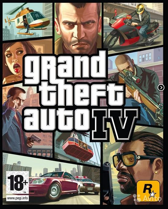 Скачать Grand Theft Auto IV + Desings Accelerator 10 PC (2008/Rus/Eng/PC) R