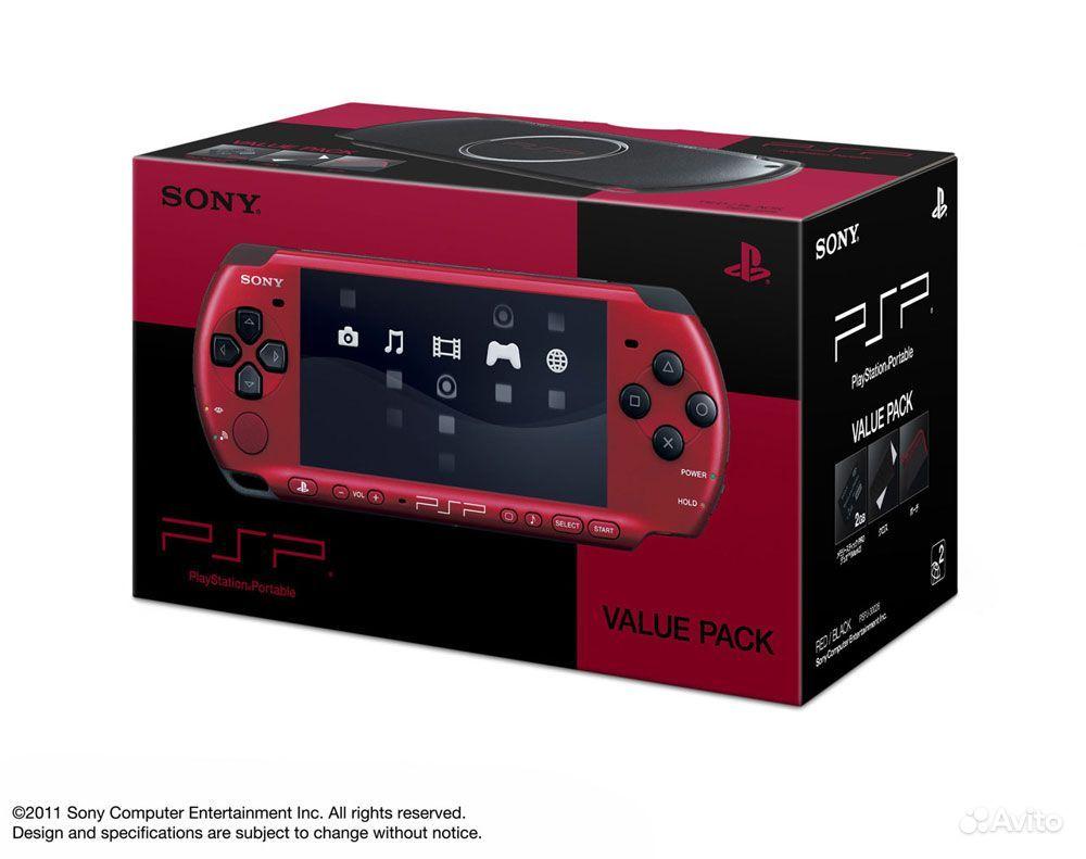 PSP 3008 Red-Black новая - Доска бесплатных объявлений Игровые приста
