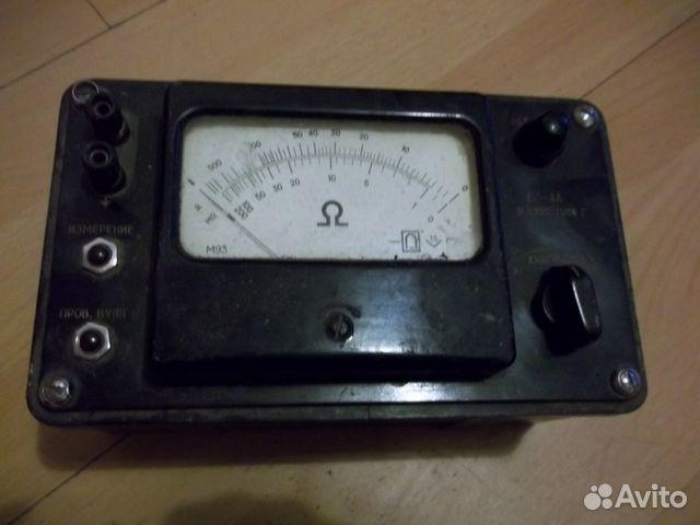Мегаоометр Е6-4А