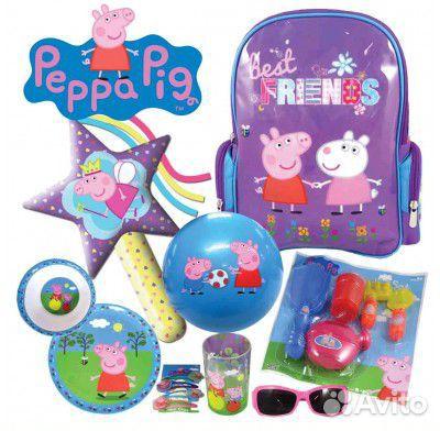 Свинка Пеппа мультик игрушками Укол у Доктора