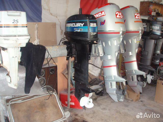 лодочные моторы бу на авито в спб хонда