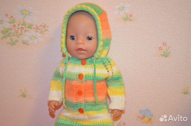 Вязаный сарафан для беби бона