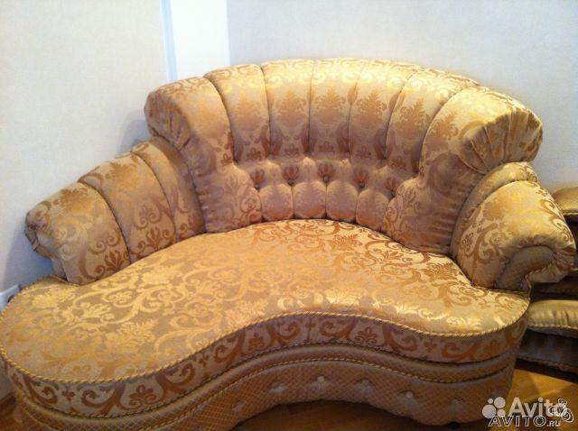 Фотография 2. Мягкая мебель (диван+ атаманка+ кресло) - фотография 2.