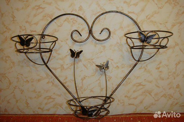 Подставка для цветов холодная ковка