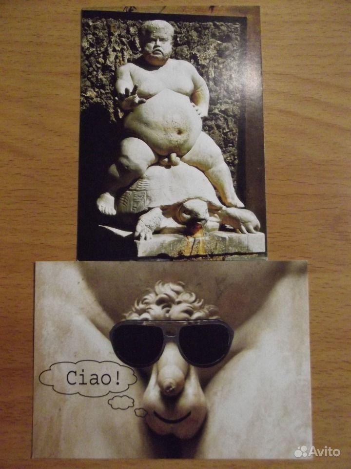 итальянские открытки: