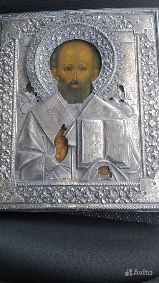 иконы в серебряном окладе: