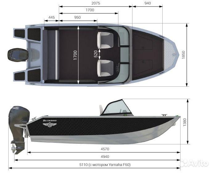 Как оборудовать лодку Волжанка 46 Фиш к рыбалке