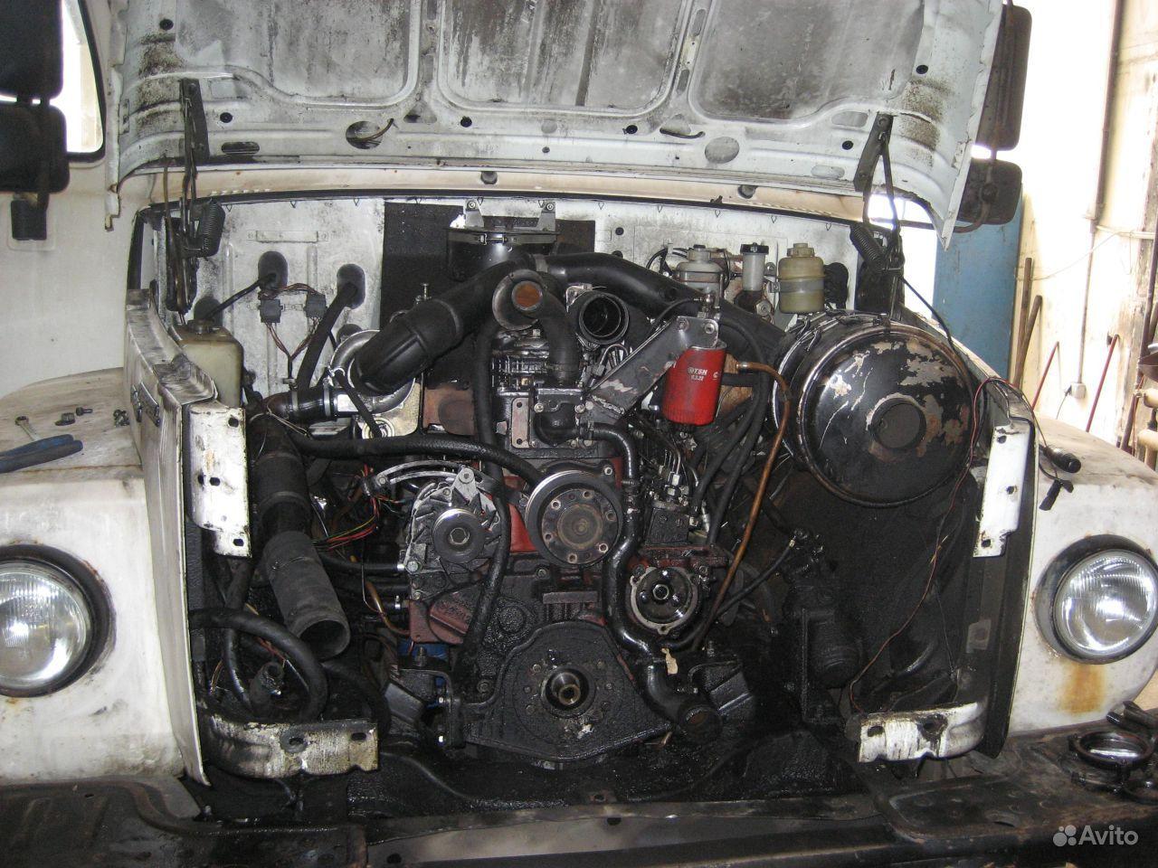 Фото двигателя газ 3309