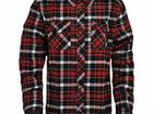 Рубашка vintage industries finnley shirt red check