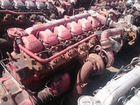 Двигатель Ман MAN D2866 на тросике