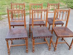 Oak Dining Chairs With Casters  Bellacor