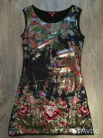 78d1ee5fb9a Блестящее мини платье Prada купить в Москве на Avito — Объявления на ...