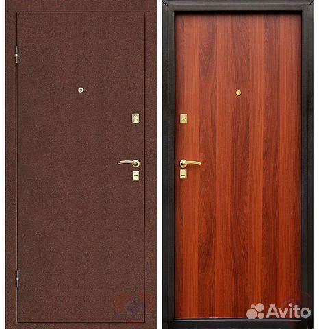 дверь металлическая входная стандартная