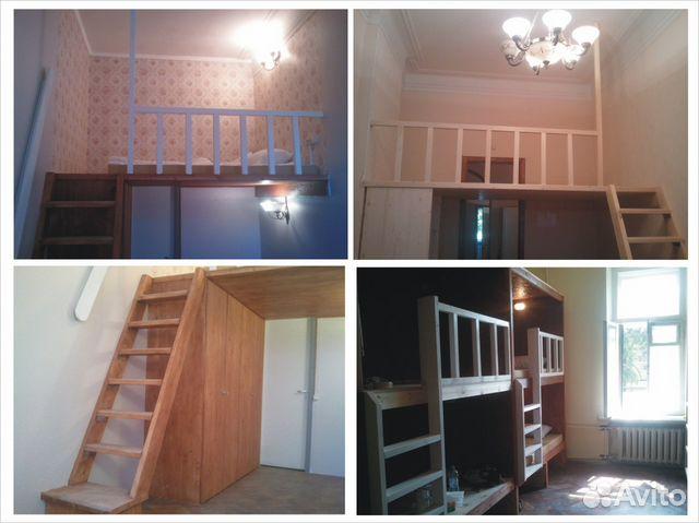 Двухъярусная кровать для хостела  санкт-петербург