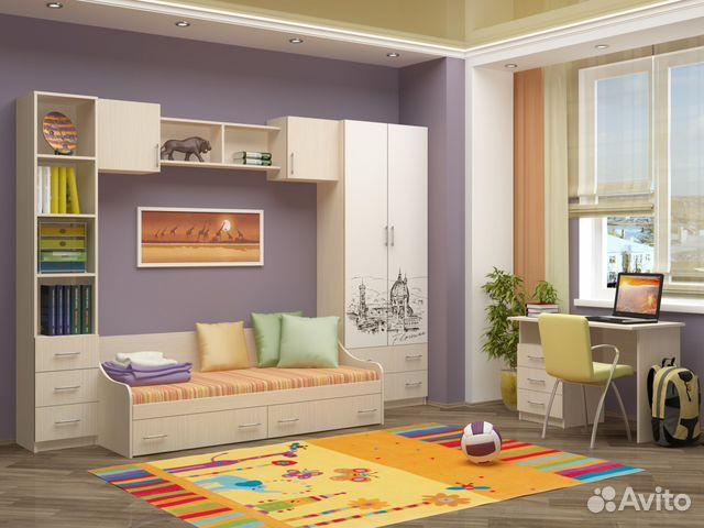 59ea975798095 Вега1 набор мебели для детской, спальни, зала купить в Республике ...