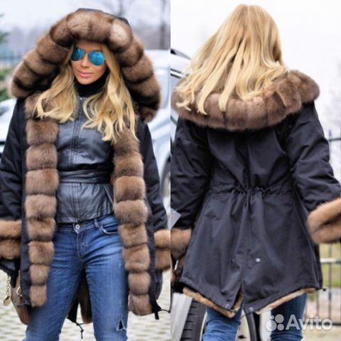 Женские куртки парки 20172018 купить недорого в интернет