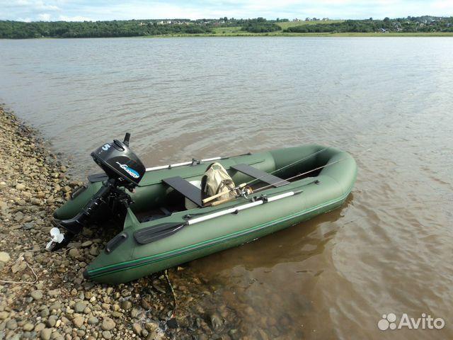 продать б у надувную лодку от мотором