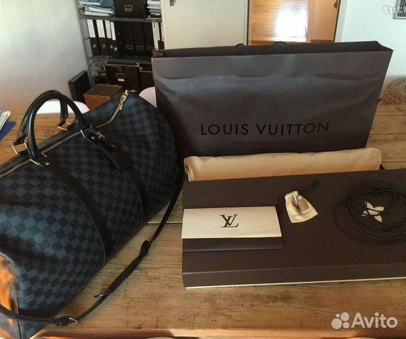 Мужские сумки портфели louis vuitton