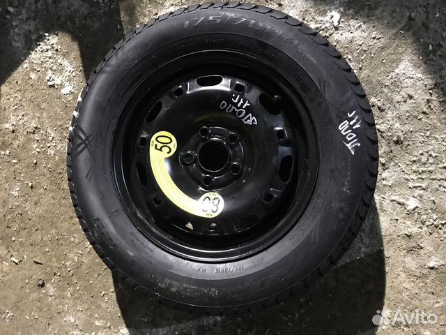 запасное колесо фольксваген поло