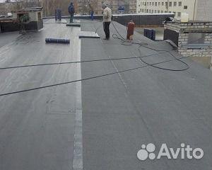 Ремонт крыши, замена мягкой кровли