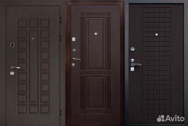 входная дверь цвет венги