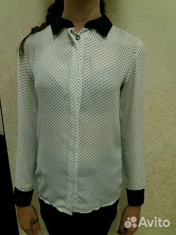 b06ca0ae887 Рубашки-блузки. Orby school купить в Свердловской области на Avito ...