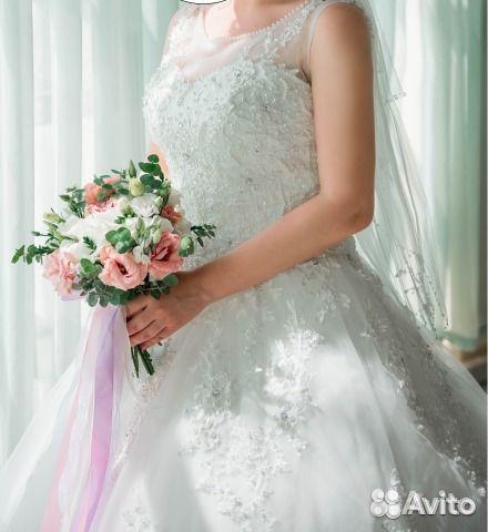 Свадебное платье авито курск