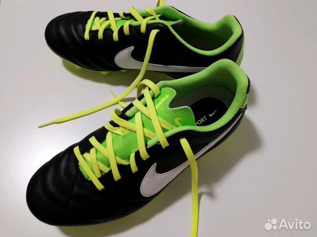 Новые бутсы Nike Tiempo 37 размер купить в Москве на Avito ... c4a235e991