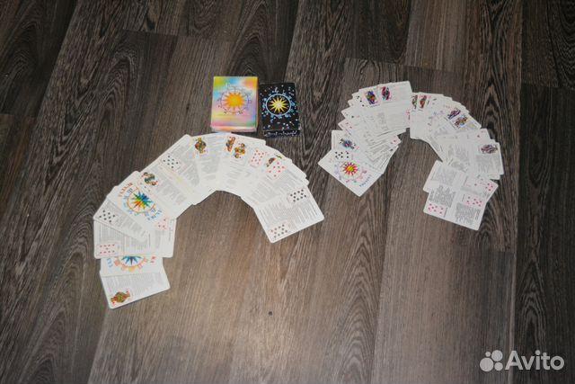 Карты оракул две колоды купить в республике крым на avito.