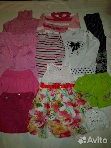 Пакет одежды для девочки р. 104-110   Festima.Ru - Мониторинг объявлений df6f8773a56