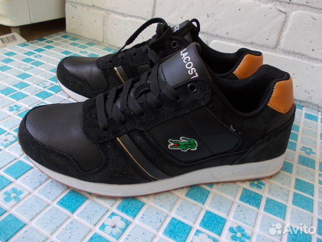 f6bbe31b Кроссовки ботинки Lacoste черные (41,42) | Festima.Ru - Мониторинг ...