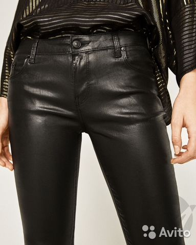 7418c729 Кожаные брюки Zara | Festima.Ru - Мониторинг объявлений