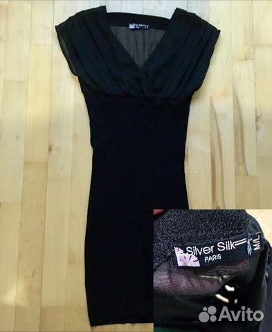 216dd4111d0 Маленькое чёрное платье Silver Silk Paris купить в Москве на Avito ...