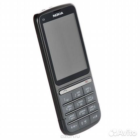 02b4656b0f2b4 Б/у Nokia C3-01 Silver (м1) купить в Республике Башкортостан на ...
