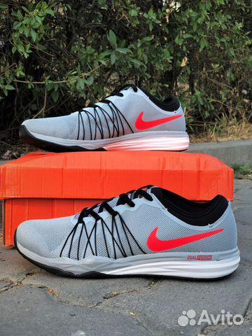 Кроссовки Nike dual fusion TR HIT,серые(44 размер) купить в