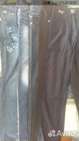 Брюки джинсы на девочку 89610805843 купить 1
