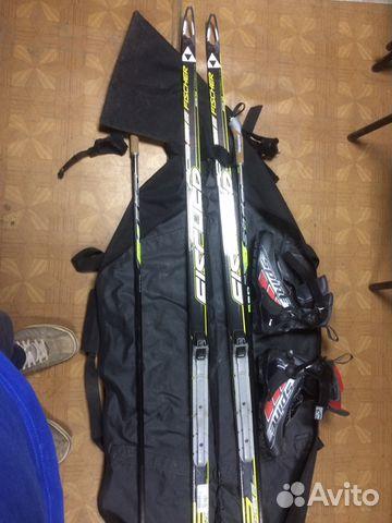 Беговые лыжи Фишер (профессиональные),ботинки, пал купить в Пермском ... 7a5841a7658