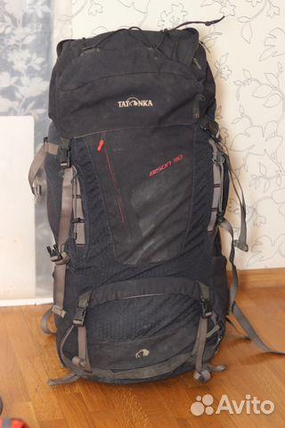 5ac320af2303 Рюкзак туристический Tatonka Bison 90 черный   Festima.Ru ...