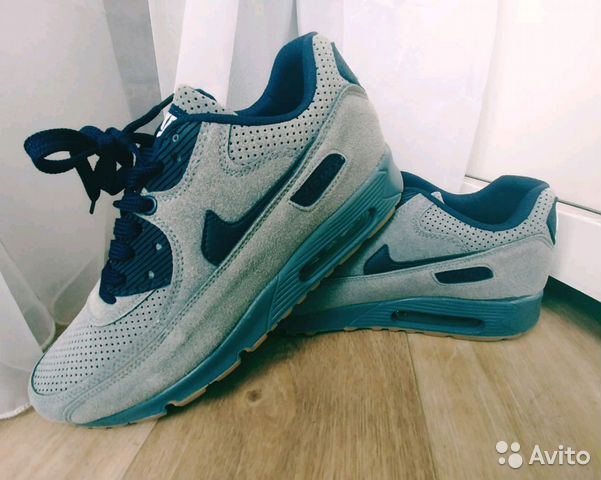 79831d0a81e6 Кроссовки Nike Air Max 90 Кожа Белые Глад. 42   Festima.Ru ...