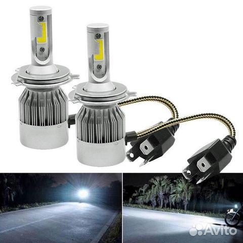 LED лампы C6 H4 H11 H7 H1 H3