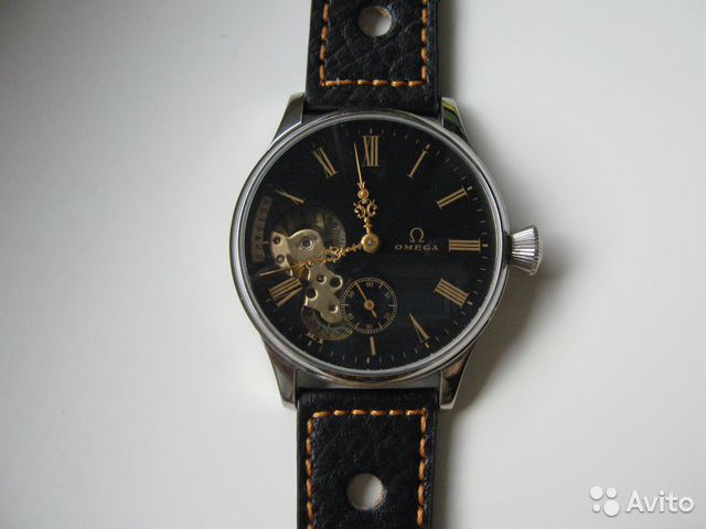 6584b31df8a961 Часы Omega марьяж скелетон. Механизм 1920 года купить в Москве на ...