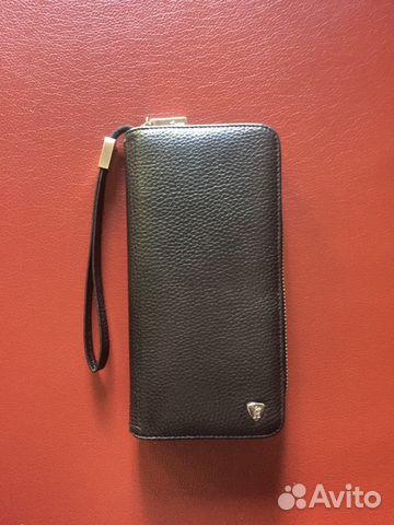 8ea4d0232eb5 Портмоне (клатч-кошелёк) чёрный мужской   Festima.Ru - Мониторинг ...