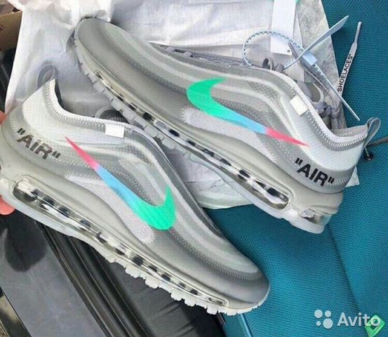 531bb048 Кроссовки Nike Air Max 97 купить в Москве на Avito — Объявления на ...
