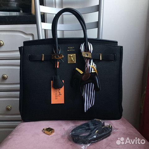 0f1091f4e00b Кожаная сумка Hermes birkin lux средняя большая | Festima.Ru ...