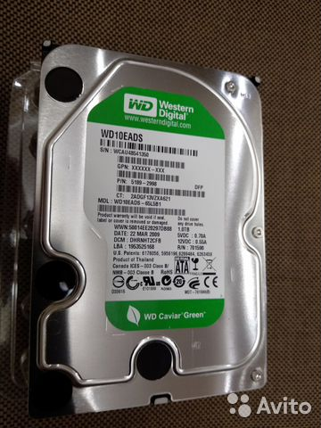 DRIVER: WD10EADS