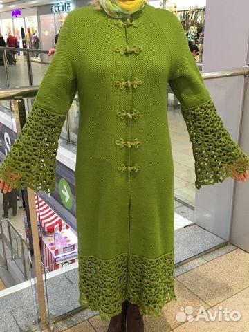 пальто вязаное крючком купить в ивановской области на Avito