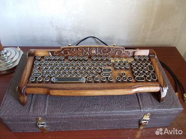 Резная клавиатура мышь