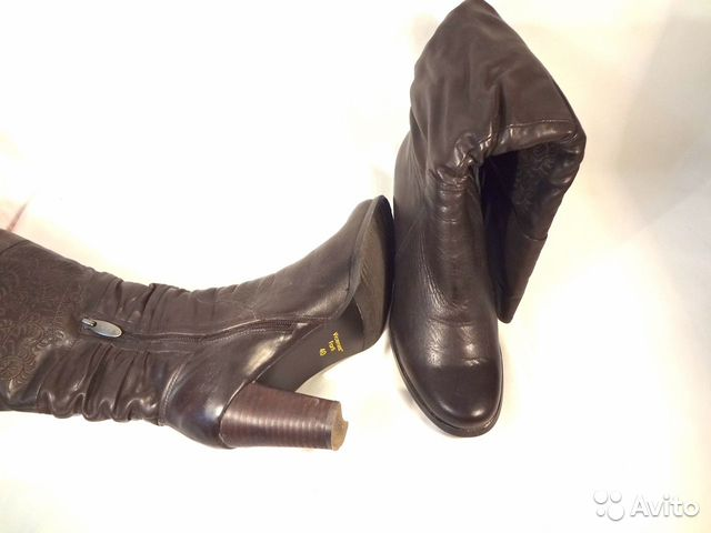 Winter leather boots Vicenza Forti size 40