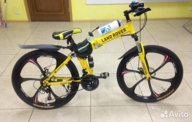 89527559801 Велосипед на литых дисках,складной