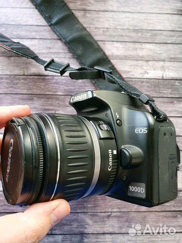 Canon 1000d kit 89314081357 купить 2